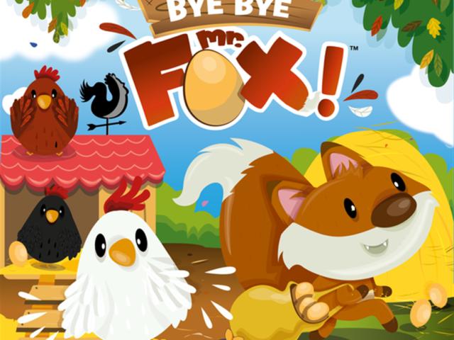 «Bye bye Mr Fox» vient de sortir !!